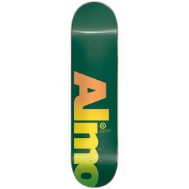 "ALMOST Fall Off Logo 8,25"" HYB Deck green"