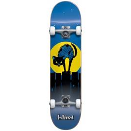 BLIND Nine Lives Youth FP Soft Top Complete Skateboard 6,75 Blue