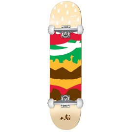 """ENJOI Burger Time 7.375"""" FP Complete Skateboard"""