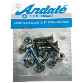 "ANDALE mount set Allen 7/8"" - Blue"