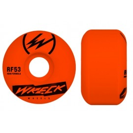 WRECK W2 Square cut Wheel 52mm orange 101A
